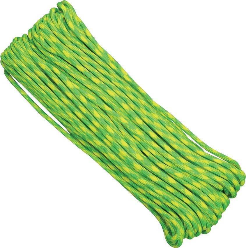 Paracord Atwood Rope MFG 550 Lemon Lime