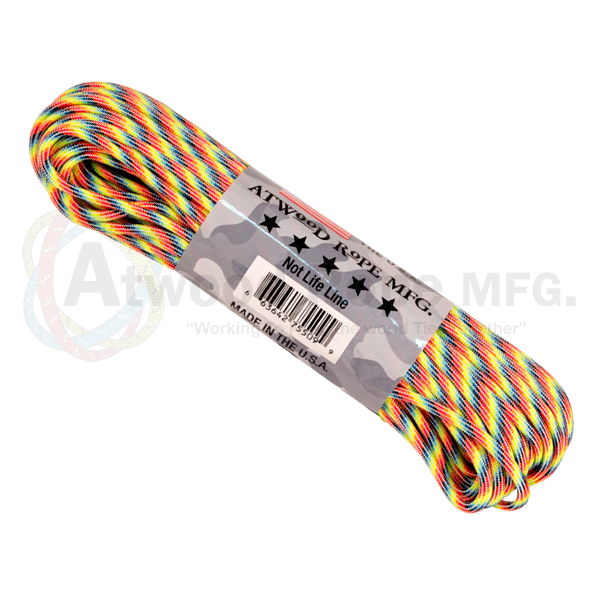 Paracord Atwood Rope MFG 550 Light Stripes