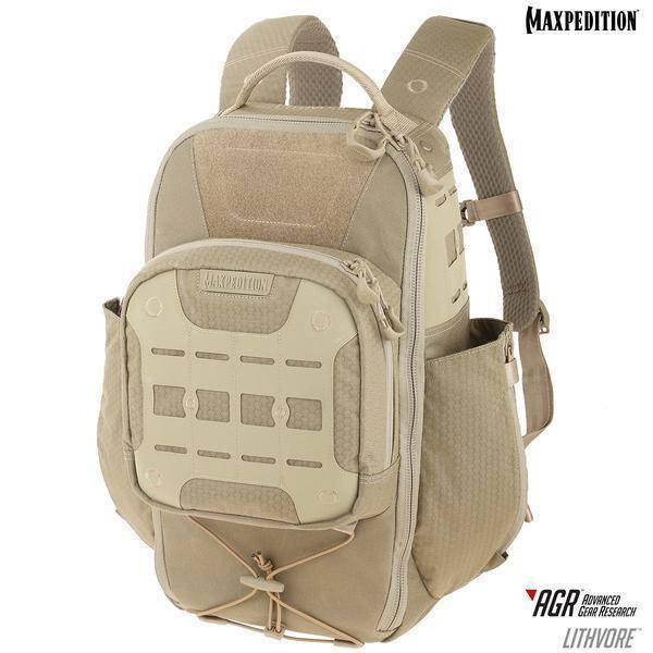 Maxpedition Lithvore™ Everyday Backpack Tan