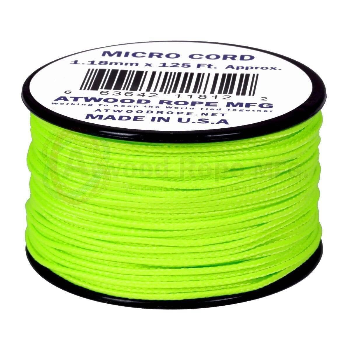 1,18мм Micro Cord - Neon Green