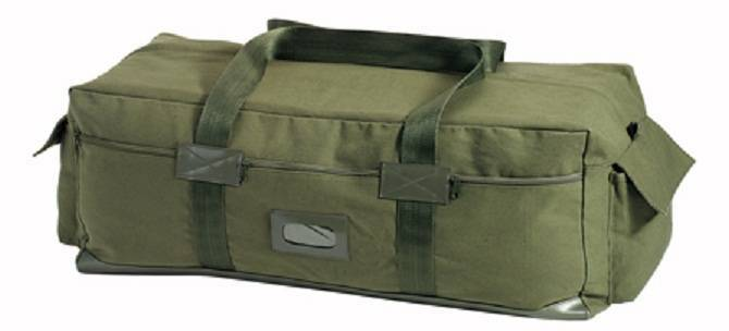 Транспортный баул Rothco Canvas Mossad Duffle Bag Olive Drab 8136-db