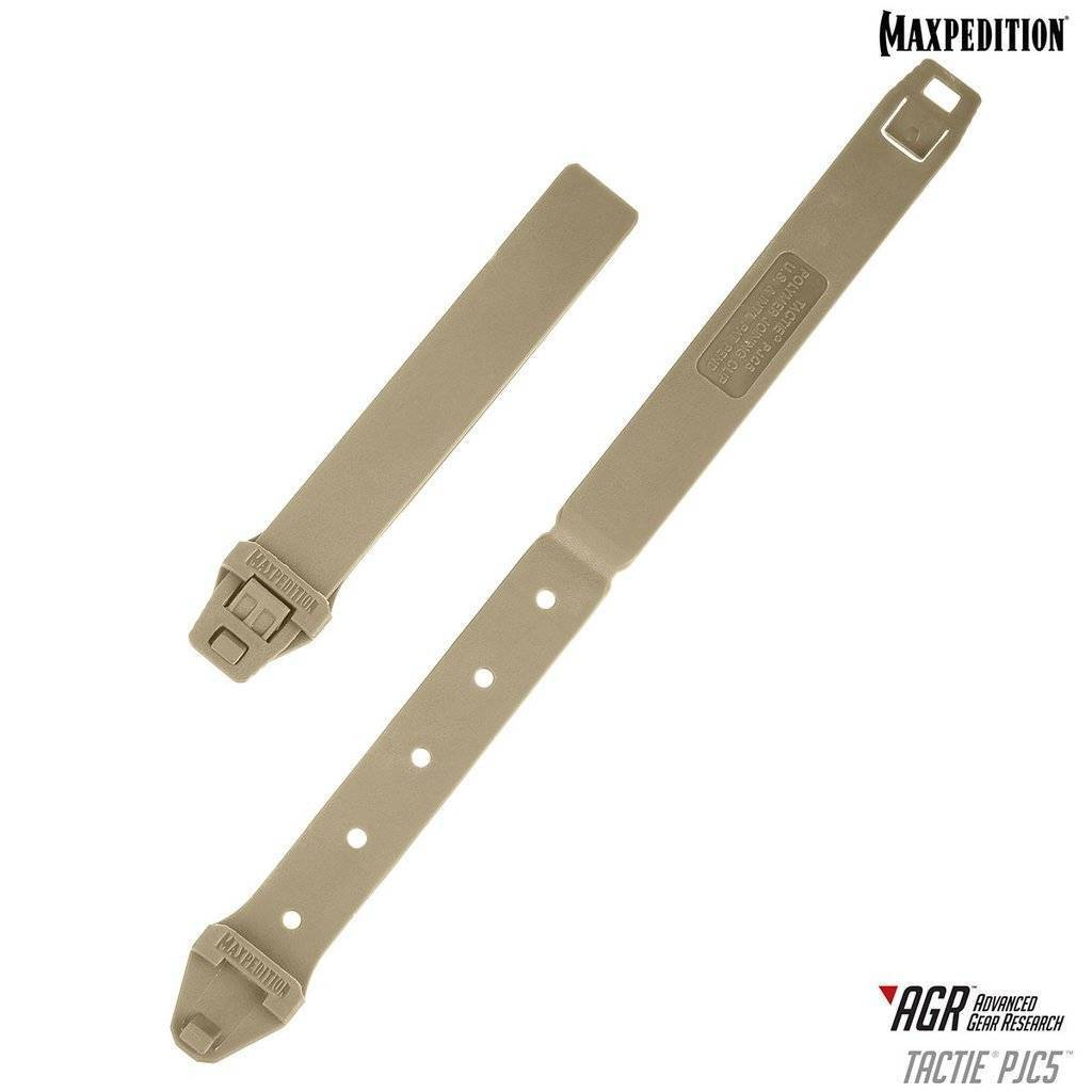 Maxpedition TacTie PJC5 Polymer Joining Clips Tan