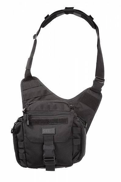 Тактическая плечевая сумка 5.11 Tactical Push Pack Black 56037-019