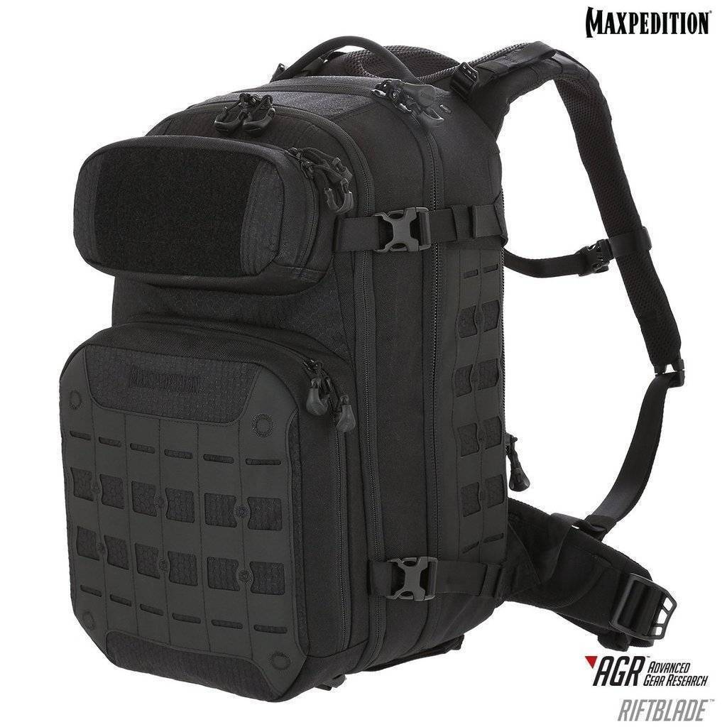 Maxpedition Riftblade CCW-Enabled Backpack Black 30L