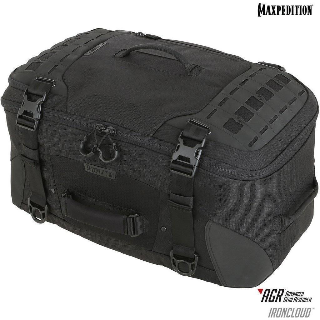 Maxpedition Ironcloud™ Adventure Travel Bag Black