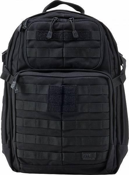 Тактический Рюкзак 5.11 Tactical Rush 24 Backpack Black 56955-019