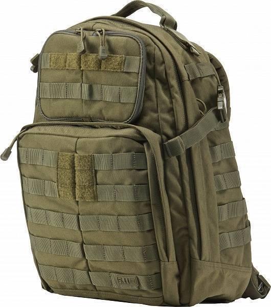 Тактический Рюкзак 5.11 Tactical Rush 24 Backpack Tac OD 56955-188