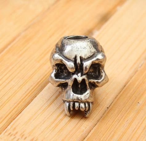 Череп Schmuckatelli Fangs Skull Стальной Fangs Skull