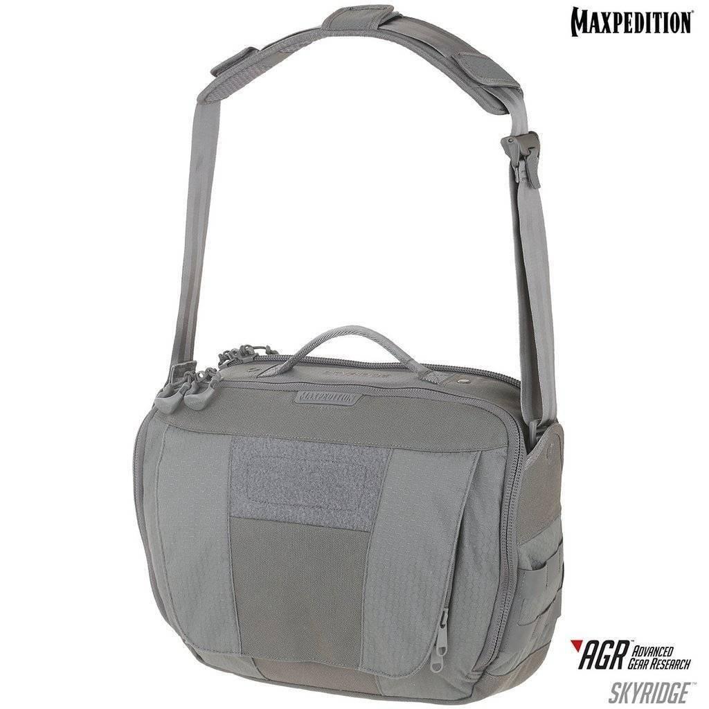 Maxpedition Skyridge™ Tech Messenger Bag Gray