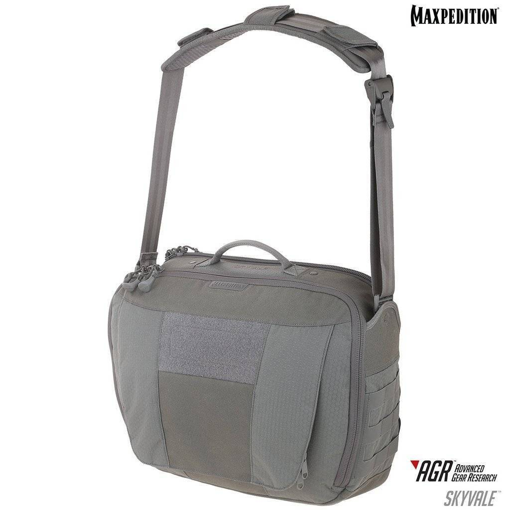 Maxpedition Skyvale™ Tech Messenger Bag Gray