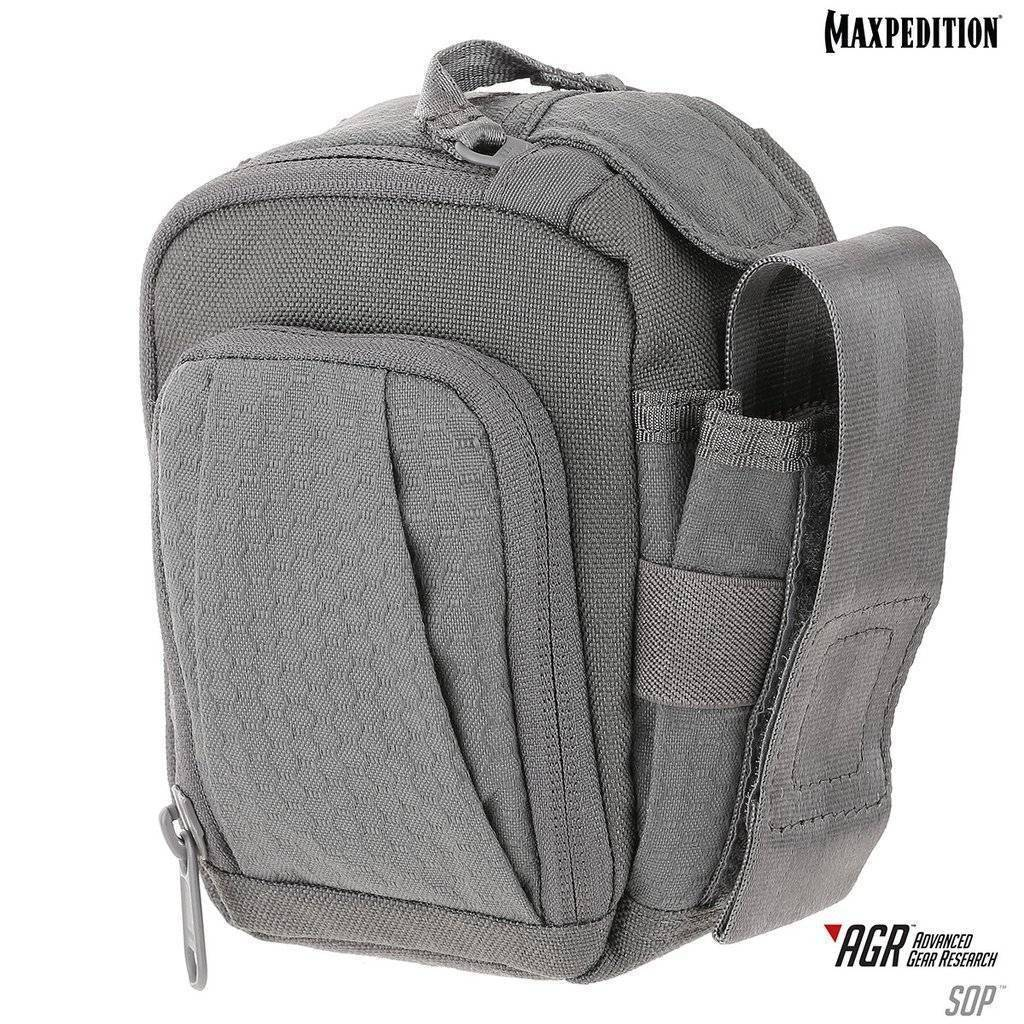 Maxpedition SOP Side Opening Pouch Gray