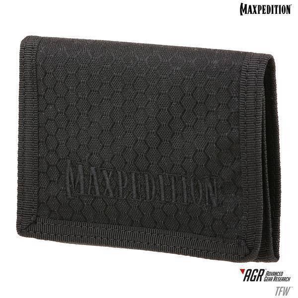 Кошелек Maxpedition TFW Tri-Fold Wallet Black TFWBLK
