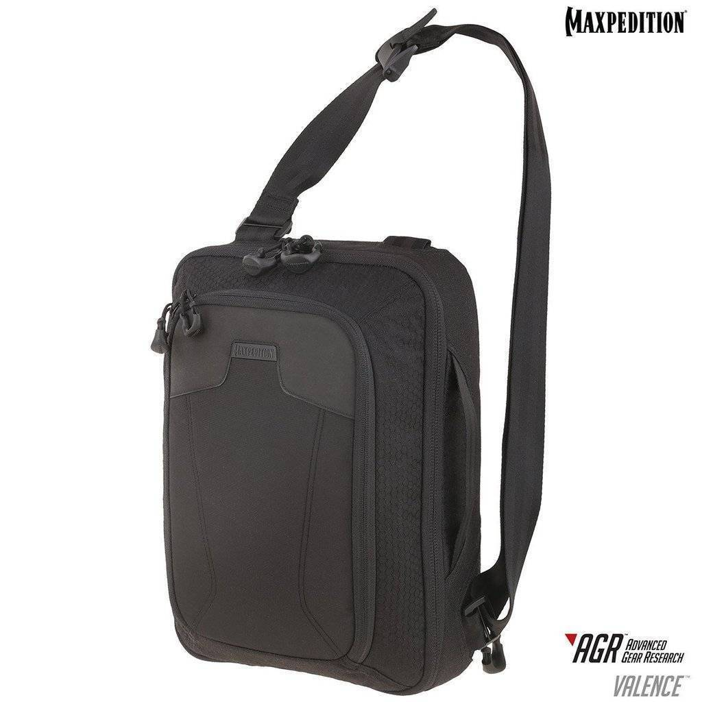 Maxpedition Valence™ Tech Sling Pack Black