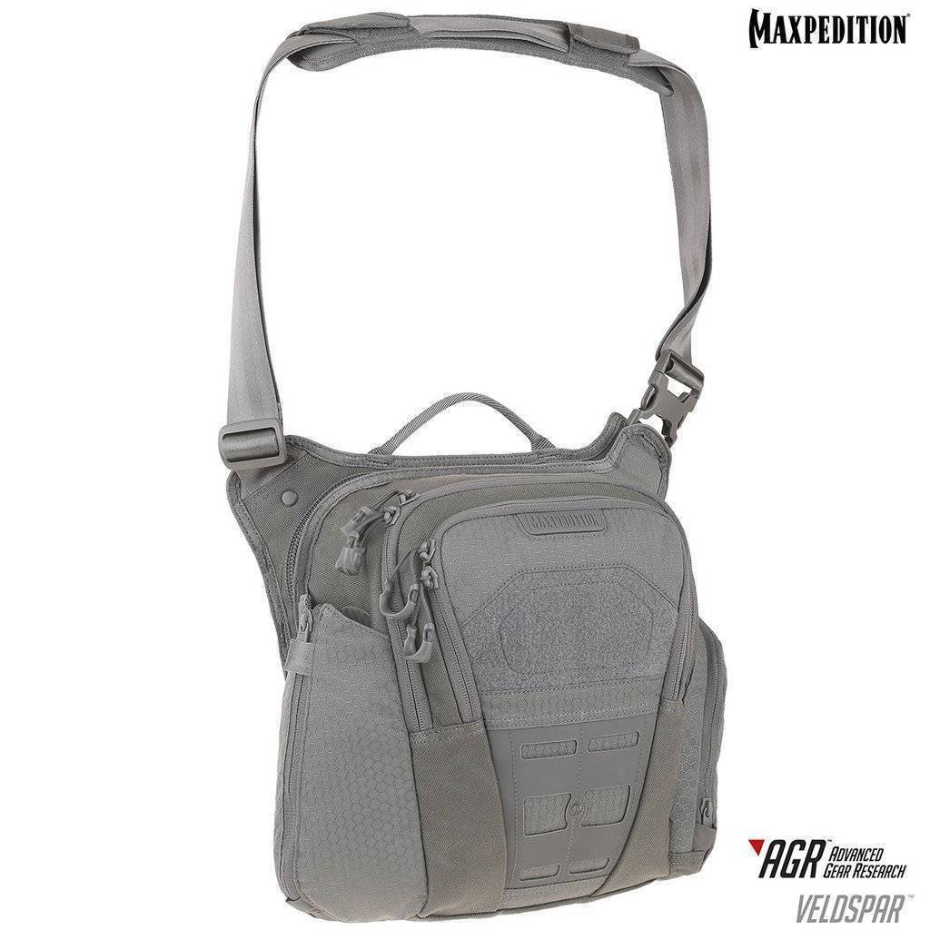 Maxpedition Veldspar™ Crossbody Shoulder Bag Gray