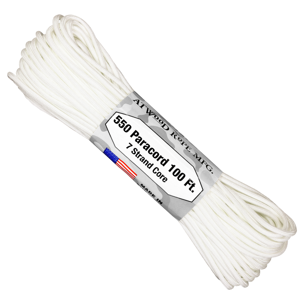Paracord Atwood Rope MFG 550 White