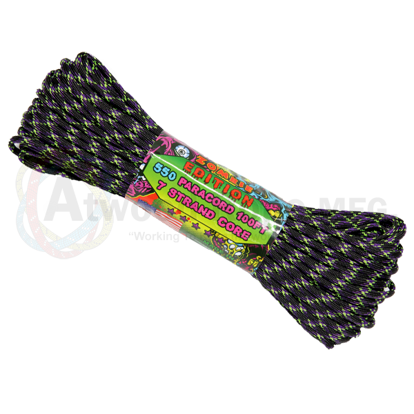 Paracord Atwood Rope MFG 550 Zombie Undead