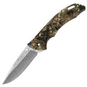 Складной охотничий нож Buck Bantam Mossy Oak Camo