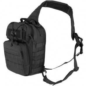 Однолямочный тактический рюкзак MaxpeditionLunada Gearslinger black