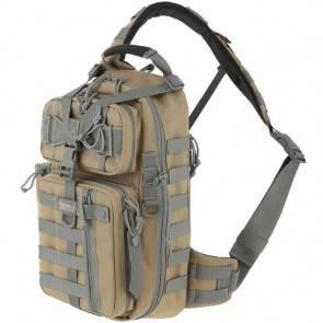 Однолямочный тактический рюкзак Maxpedition Sitka Gearslinger Khaki-Foliage
