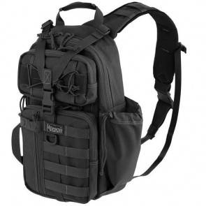 Однолямочный рюкзак Maxpedition Sitka S-type Gearslinger Black