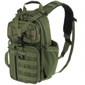 Однолямочный тактический рюкзак Maxpedition Sitka S-type Gearslinger OD Green