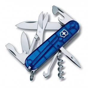 Швейцарский складной нож Victorinox Climber TransBlue