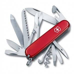 Швейцарский складной многофункциональный нож Victorinox Ranger Red