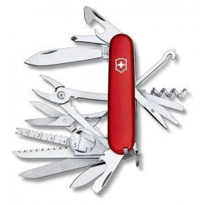 Швейцарский складной многофункциональный нож Victorinox Swiss Champ Red