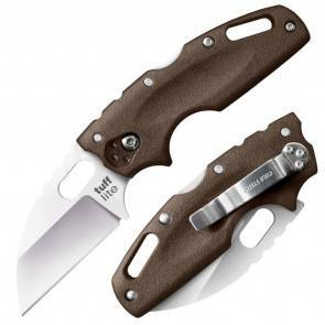 Складной EDC нож Cold Steel Tuff Lite Plain Edge (Dark Earth)