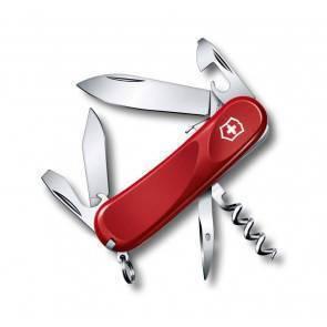 Швейцарский складной многофункциональный нож Victorinox Evolution S101 Red