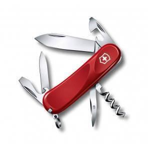 Швейцарский складной многофункциональный нож Victorinox Evolution 10 Red
