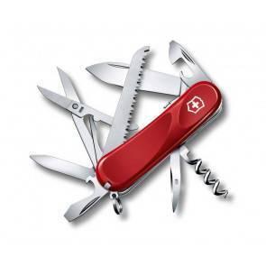 Швейцарский складной многофункциональный нож Victorinox Evolution S17 Red