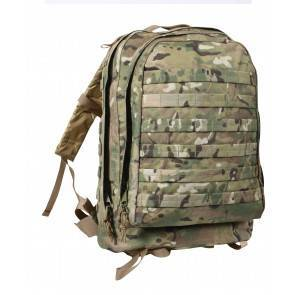 Тактический рюкзак Rothco MOLLE II 3-Day Assault Pack MultiCam 40125