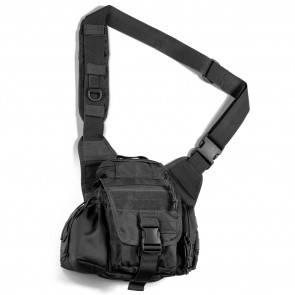 Тактическая сумка через плечо Red Rock Hipster Sling Bag Black