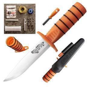Нож для выживания Cold Steel Survival Edge (Orange)