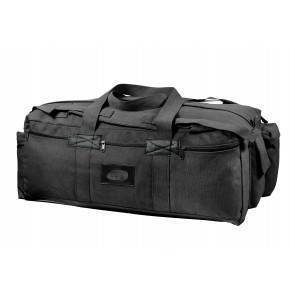 Транспортный баул Rothco Canvas Mossad Duffle Bag Black 8136-bl