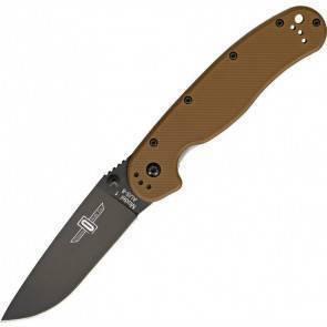 "Складной EDC нож Ontario RAT 1 ""Крыса"" BP Coyote Brown"