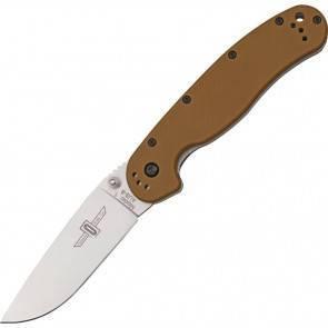 "Складной EDC нож Ontario RAT 1 ""Крыса"" Coyote Brown"