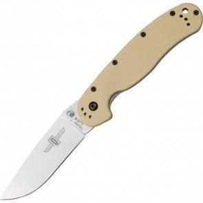 """Складной EDC нож Ontario RAT 1 """"Крыса"""" Desert Tan"""