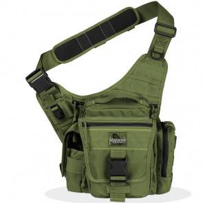 Тактическая сумка Maxpedition Jumbo L.E.O. S-type OD Green