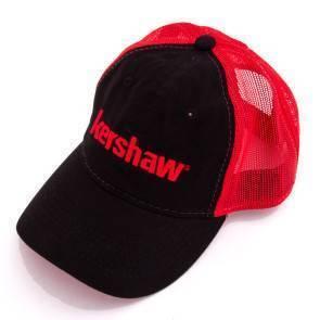 Бейсболка Kershaw красно-черная