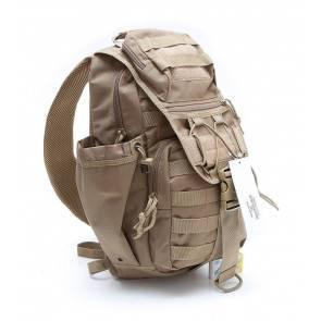 Однолямочный тактический рюкзак Defcon 5 Tactical Single Shoulder Backpack Coyote Tan D5-L113CT