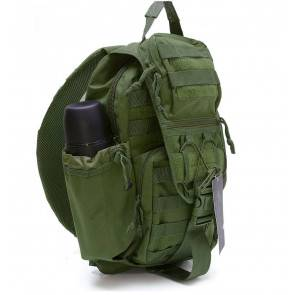 Однолямочный тактический рюкзак Defcon 5 Tactical Single Shoulder Backpack OD Green D5-L113OD
