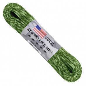 Паракорд Atwood Rope MFG 550 Diamond Black and Neon Green