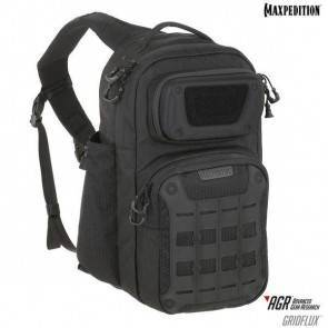 Однолямочный рюкзак Maxpedition Gridflux™ Ergonomic Sling Pack Black