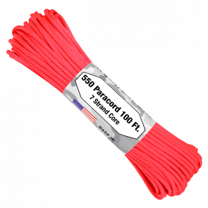 Паракорд Atwood Rope MFG 550 Hot Pink