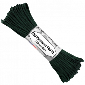 Паракорд Atwood Rope MFG 550 Hunter Green