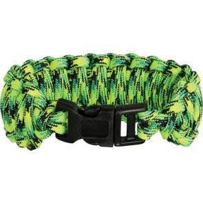 Браслет из паракорда Knotty Boys Fat Boy Survival Bracelett Gecko (Medium)
