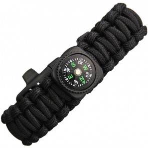 Браслет из паракорда Knotty Boys Survival Bracelett With Compass (Medium)