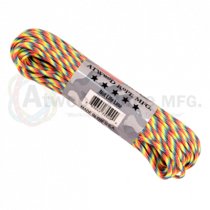 Паракорд Atwood Rope MFG 550 Light Stripes